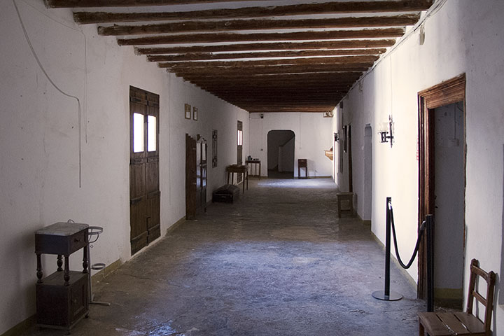 Hallway in the Monastery of Cásbas